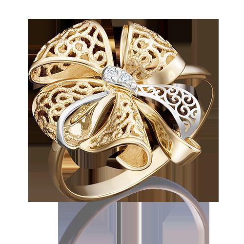 Кольцо из лимонного золота