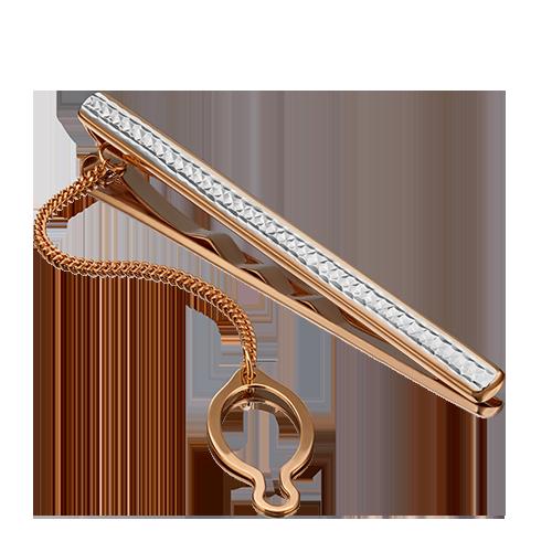 Зажим для галстука из красного золота 09-0045-06-000-1110-04 platina фото
