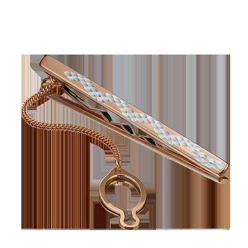 Зажим для галстука из красного золота 09-0045-03-000-1110-04 platina фото